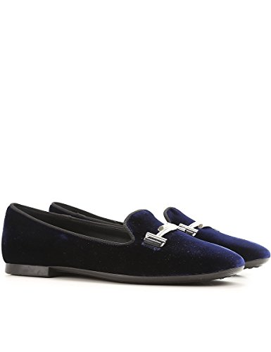 Slippers Tod's Blu XXW47A0V141HGC2643 Donna in Velluto AWn8rvd8Oq
