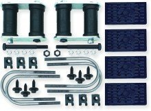 1967-69 Camaro/Firebird, 68-74 Nova Multi-Leaf Install Set All U-Bolts