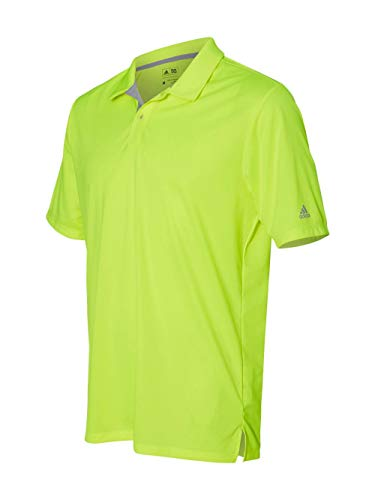 adidas Golf Mens Gradient 3-Stripes Polo (A206) -Solar Yell ()