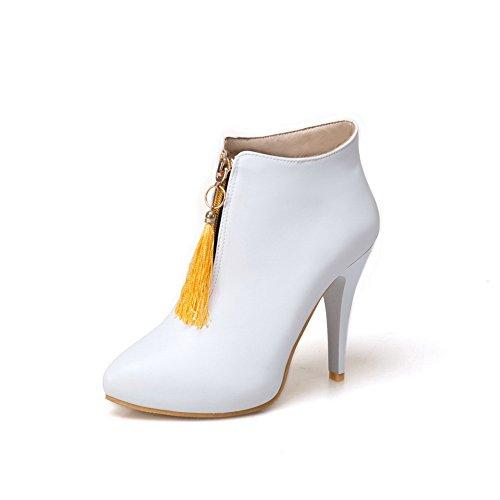 Plateforme Blanc Femme Plateforme Balamasa Balamasa Femme Abl09876 Blanc Abl09876 qpxO7C7A