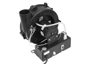 Fasco W4 3.3'' Frame Shaded Pole AO Smith OEM Replacement Water Heater Draft Inducer Motor with Sleeve Bearings, 1/20HP, 3400rpm, 115V, 60 Hz, 1.8amps