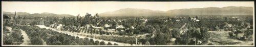 Photo Redlands, California 1908
