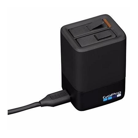 GoPro Dual Battery Charger + Battery (HERO6 Black/HERO5 Black) (GoPro Official Accessory)