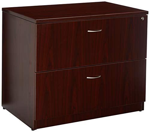 Lorell Lateral File, 35 by 22 by 29-1/2-Inch, Mahogany ()