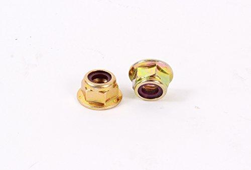 MTD 712-04063 Pack of 2 Hex Flange Lock Nuts - 5/16-18