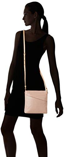 CLARKS Clarks Crossbody Bag Tottington Duo Oat Leather Beige (Oat Leather)