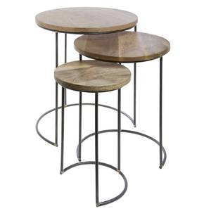 Round Retail Nesting Tables, Set 3