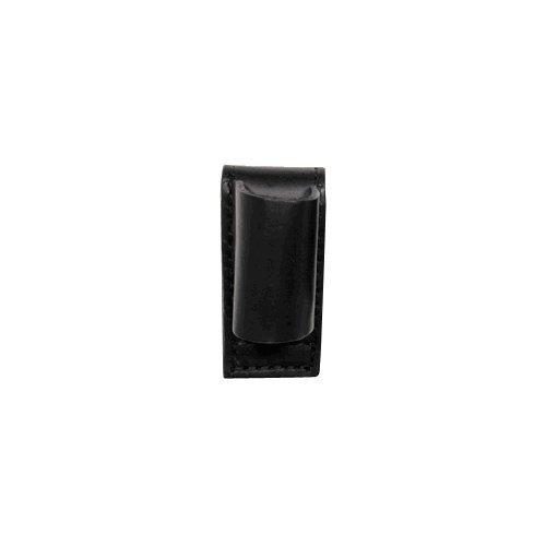 Boston Leather 5559-2 Black High Gloss Stinger Flashlight Holder Open Style