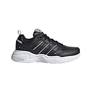 adidas Women's Strutter Cross Trainer, Black, 5 M US