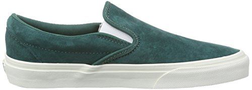 Slip Basses Baskets Vans Adulte Bayberry Blanc on Classic de Blanc Mixte Scotchgard Vert aw5nxq6B