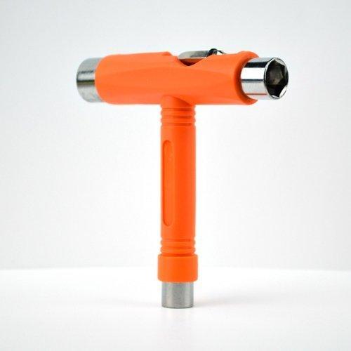 Efivs Arts skateboard t-tool all in one Screwdriver socket multi Function skate Tool, arancione