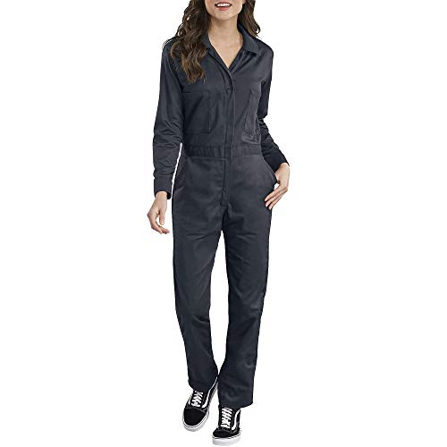2834fb984afc4 Dickies Women's Long Sleeve Cotton Twill Coverall, Dark Navy, Extra Large