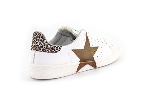 Sneaker Nira Rubens DAIQUIRI STELLA Bianco/Jaguar - Size:36