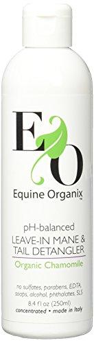 pH-Balanced Organic Chamomile Leave-in Mane & Tail Detangler for Horses by Equine Organix