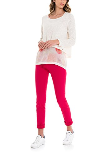 SALSA Pantalones Color - Wonder Push up slim Rosa