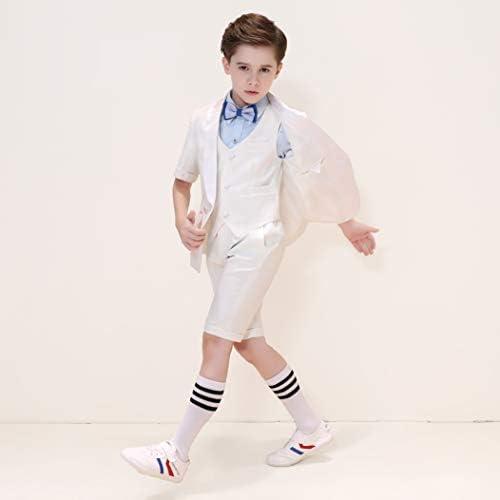 Hibabe Boys Fashion Cotton White Dress Socks