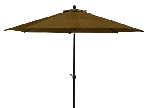Ace Evert 9-Feet Auto Tilt Market Umbrella, Olefin Fabric, (Olefin Market Umbrella)