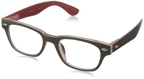 Peepers Bellissima Retro Reading Glasses,Grey,+3