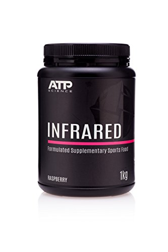 ATP Infrared NRG (Raw) Pre-Workout Supplement, 100% All Natural Muscle Builder for Improved Energy, Stamina & Endurance Booster, Helps Muscular Gains & Weight Loss, Focus (No Caffeine) – Raspberry