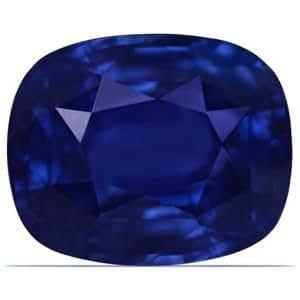 9.27 Carat Untreated Loose Sapphire Cushion Cut