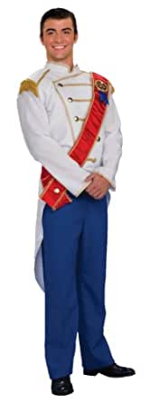 Forum Fairy Tales Fashions Prince Charming Costume - Choose Size (Small, Blue)