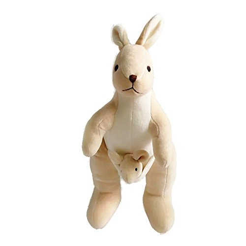 KateDy Lovely Stuffed Animals Toy Cute Kangaroo Plush Toy Soft Animal Organic Cotton Baby Kids Adults Toys,Great Gift for Boys ang (Grown Ups 2 Costume Party)