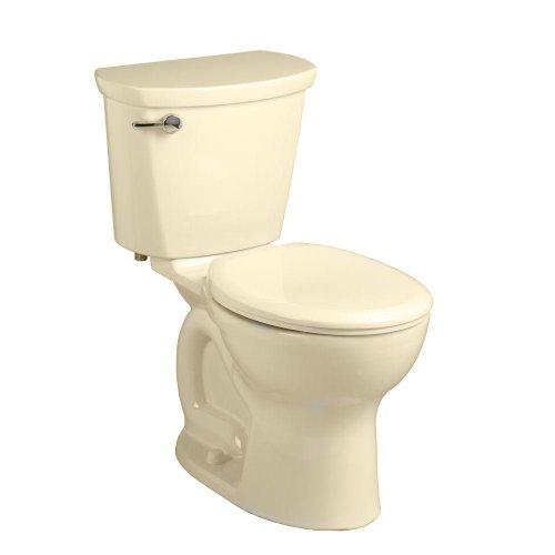 American Standard 215DA.104.021 Cadet Pro 2-piece 1.28 GPF Round Front Toilet, Bone