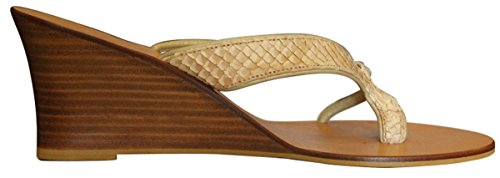 11sunshop Sandales en Cuir Model Alia Par HGilliane Design EU 33 au 44 Sur Mesure Uniquement