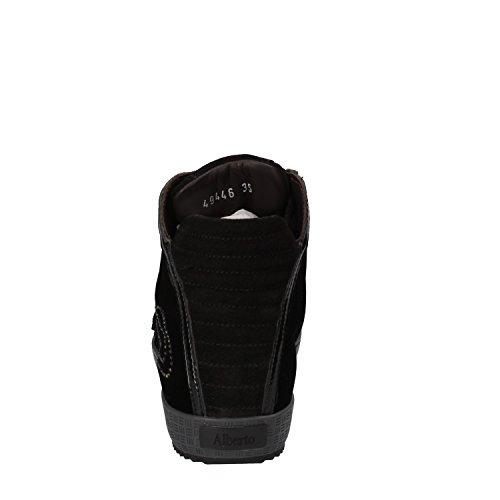Femme Noir Guardiani Sneakers Velours Sport EZy4qpH