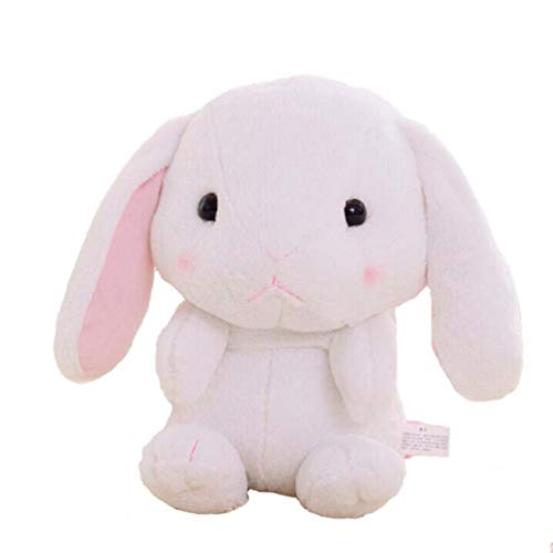 (XMiniLife Large Stuffed Lop Rabbit Doll Backpack,Best Gift 24Inches (Pink))
