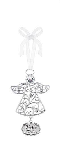 Country Angel Ornament - Ganz Ornament Teachers Are Angels On Earth Home Decor