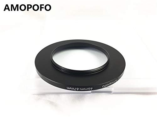 Universal 46-67mm /46mm to 67mm Step Up Ring Filter Adapter for UV,ND,CPL,Metal Step Up Ring