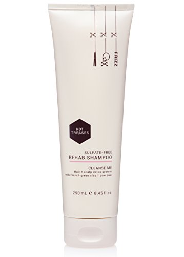 Natural Vegan and Cruelty Free Shampoo ::: Sulfate-Free Rehab Shampoo, 8.45 fl.oz ::: Sulfate Free and Paraben Free