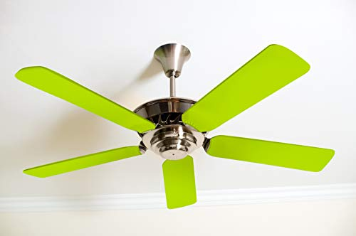 Fancy Blade Ceiling Fan Accessories Blade Cover Decoration, Neon (Neon -