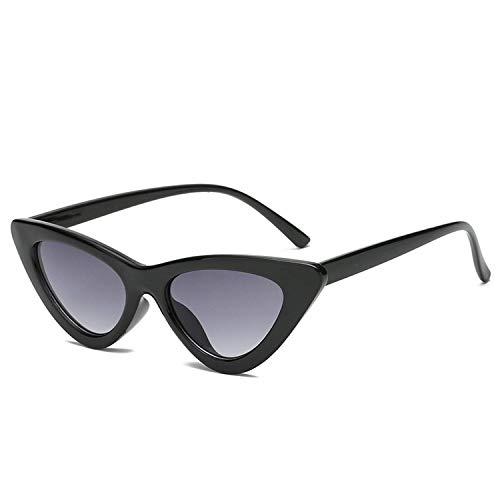 Christmas gifts Women Sunglasses Cat Eye Eyewear Designer Sunglass Female UV400 Sun Glasses,BlackFrameGray