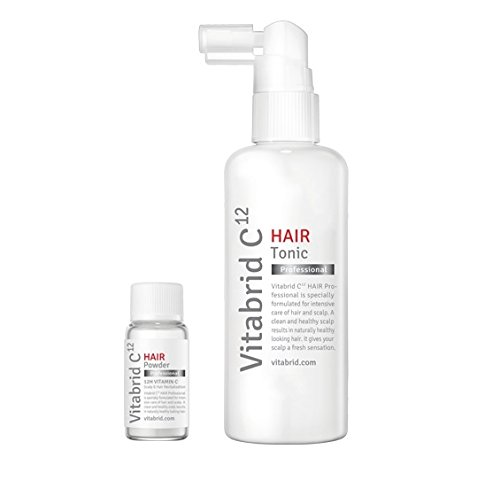 Brightening Tonic - Vitabrid C12 Hair Tonic Set (Professional, Scalp Relief) (Professional)