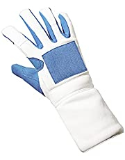 Fencing Gloves for Adult Children ,Mittens for Fencing Match and Bout Practice ,Professional Fencing Equipment - (XXS-XXL)
