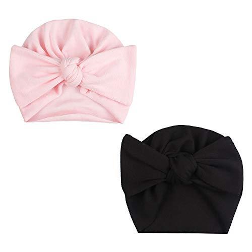 Baby Hat Cap Baby Girl Boy Velvet Cotton Pillow with Bowknot Baby Beanie Turban Autumn,25