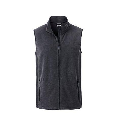 2store24 carbono de lana Chaleco de una en mezcla materiales negro duradero de 77rfqx6