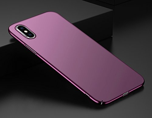 Apple Anti Silicone Violet Antichoc PC Noir iPhone iPhone 10 Cover X Rayure Scratch Fine iPhone Housse 10 Coque Anti Souple Ultra Mince Rouge Crystal iPhone X Case Protection Transparente f17wIxqnS