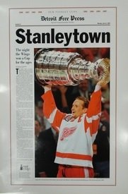 Stanleytown-1997-Detroit-Red-Wings-Free-Press-Poster