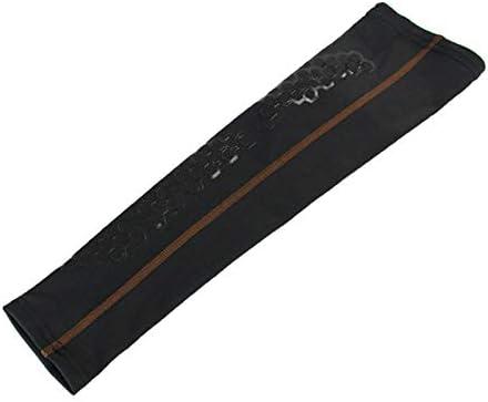 Phiten×EDGE【ファイテン×エッジスポーツ】 アクアチタンアームサポーター4 ブラウン L (Aquatitan ARM Supporter Brown) | アームサポーター