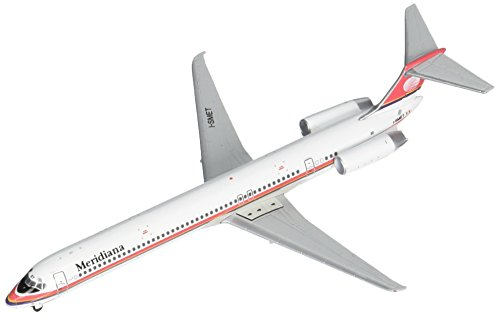 Scale Airplane Replica (GeminiJets Meridiana MD-80 Airplane Replica (1:400 Scale))