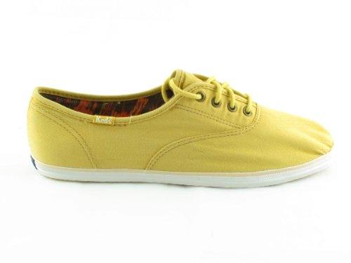 Keds Not Too Shabby Sneaker Mustard Brown