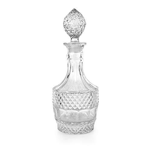 Buy antique bourbon in crystal decanter
