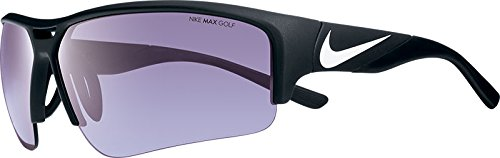 Nike EV0873-010 Golf X2 Pro E Sunglasses (One Size), Matte Black/White, Max Golf Tint - Nike Sunglasses Pro X2