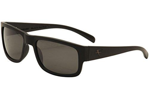 Fatheadz Eyewear Men's Modello V2.0 FH-V031-1SM Polarized Rectangular Sunglasses, Black, 63 - Sunglasses Fatheadz