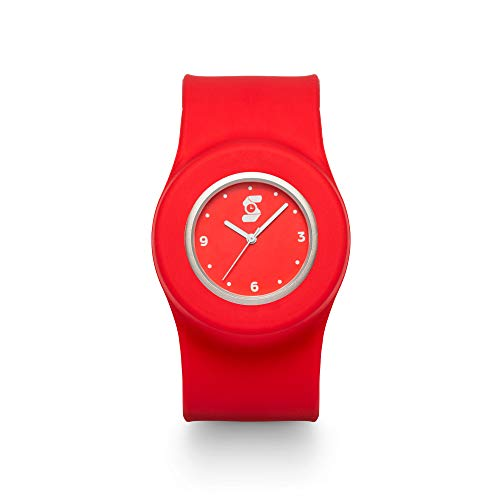 Slappie Unisex Adult Watch - Hypoallergenic Silicone Strap Quartz Wrist Watch – One Size Fits All for Teens & Adults