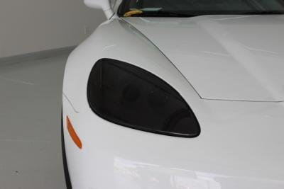 - C6 Corvette Base/GS/ZR1/Z06 Lamin-X Headlight & Fog Light Cover Protection Kit Dark Smoked Base - Coupe or Convertible