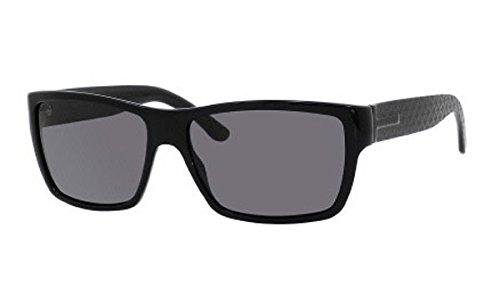 Amazon.com: Gucci de los hombres GUCCI 1000/S Wrap anteojos ...